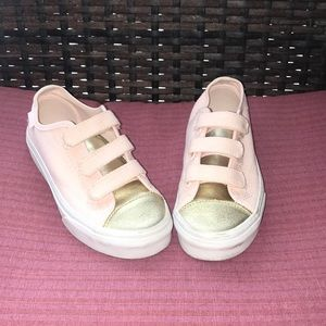 Vans Heavenly Pink And Gold Style 23 Sneakers